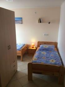 Kinderzimmer, Einzelbett, Kleiderschrank
