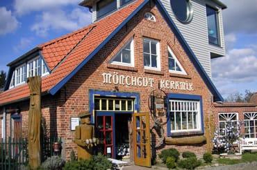 Mönchgut Keramik in Middelhagen