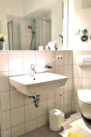 ... WC und Dusche