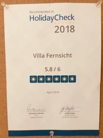 HolidayCheck-Danke, liebe Gäste für Ihr Vertrauen!