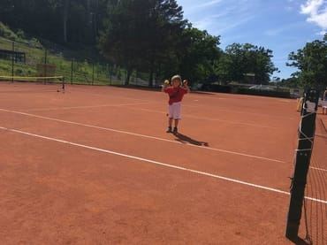 Tennis am Nordstrand in Göhren