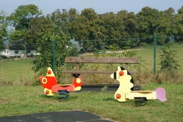 Spielplatz auf der Anlage