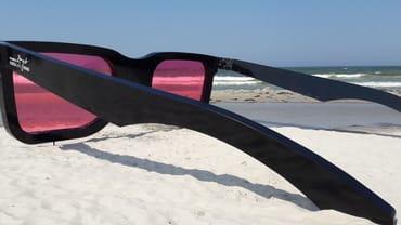 Oder mal alles durch eine rosarote Brille sehen!