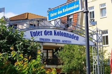 Beliebte Flaniermeile in Kühlungsborn-West