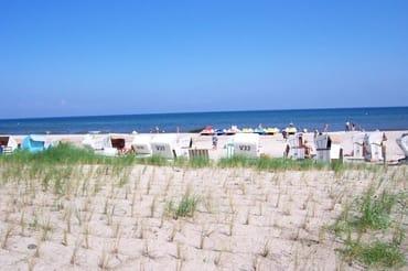 Strandleben in Kühlungsborn