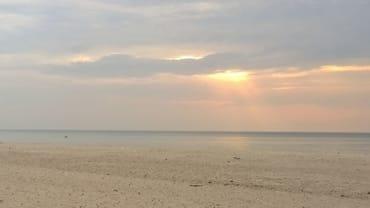 Sonnenuntergang am Dierhagener Strand