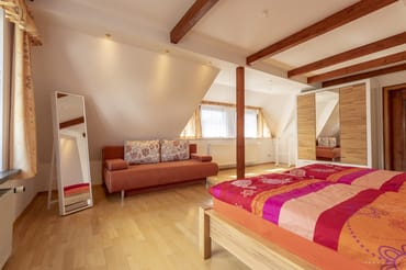 Schlafzimmer 2 mit Schlafcouch