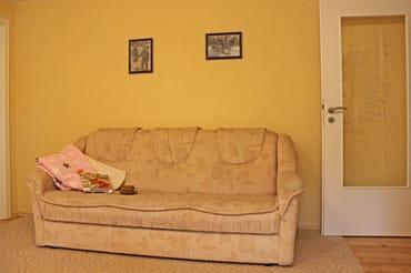 gemütliche Couch auch als Schlafcouch nutzbar