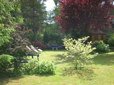 Gartenidylle in unverbauter Lage .....