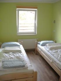 kleineres Schlafzimmer für zwei Personen