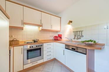 separate Küche (oben)