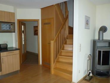 Treppe zur Galerie / Maisonnette