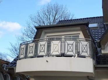 Süd-Balkon 8 m2