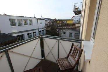 Balkon vom Schlafzimmer