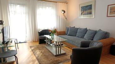 Wohnzimmer mit Schlafcoch