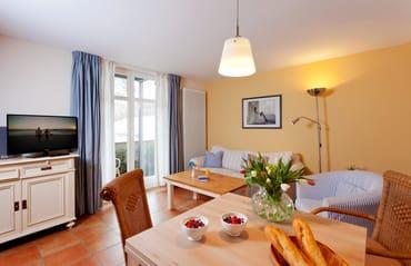 Das gemütliche und zugleich helle 2-Raum-Appartement Nr. 1 der Villa San Remo ...