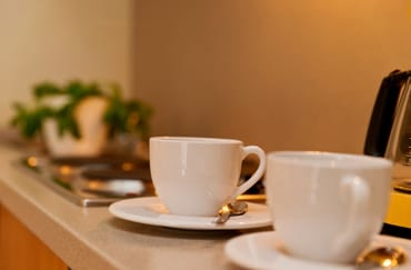 ... Kaffeemaschine beste Voraussetzungen.