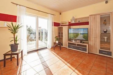 Kombinierte Wohnraum-Küche