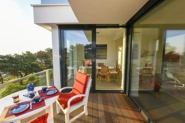 Bodentiefe Fenster bieten einen grandiosem Meerblick!