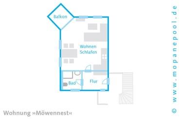 Am Haus steht Ihnen ein kostenfreier PKW Stellplatz zur Verfügung. Ein kostenfreier WLAN Anschluss komplettiert den Urlaubskomfort.