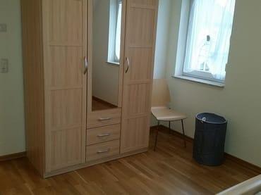 Schlafzimmer 1; Sommerbetten befinden sich im Schrank