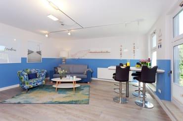 """Das großzügige 1-Raum-Appartement befindet sich im Erdgeschoss des Ferienhauses """"Zum Weißen Rössl"""" in der Bergstraße 6 im Seebad Ahlbeck ..."""