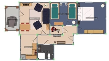 Wohnung Nr. 3 Villa Bismarck