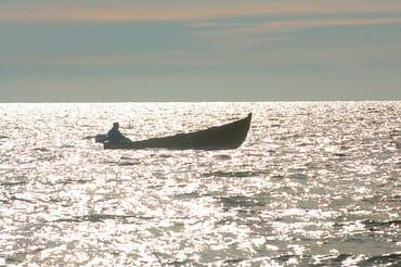 Ein Mönchguter Fischer