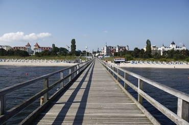 Blick von der Zinnowitzer Seebrücke