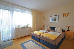 Schlafbereich Doppelzimmer  01