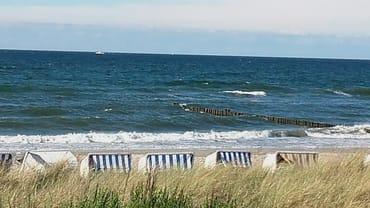 Strandabschnitt am Baltic Platz