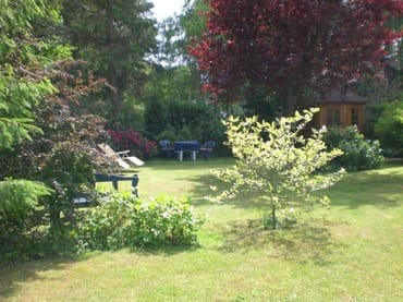 Gartenidylle und Gelegenheit zum relaxsen