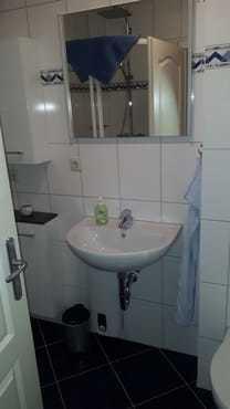 Das Bad, klein aber fein