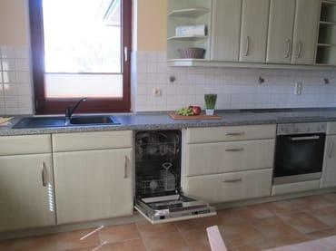 Küchenspüle + Spülmaschine