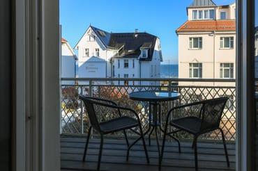 Balkon zur Seeseite