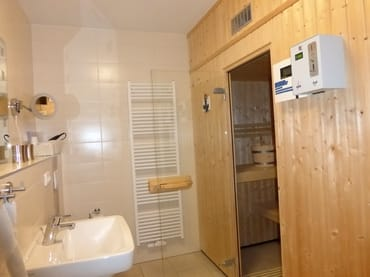 Sauna & 2. Bad, Erdgeschoss