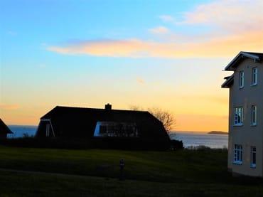 Aussicht von der Terasse auf die Ostsee