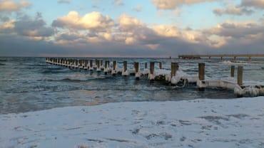 Ostsee im Winter - so schön!