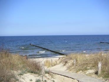 Strandzugang vom Düneneck