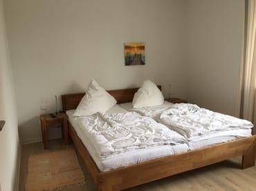 Doppelbett Naturholz/Eiche 180x200