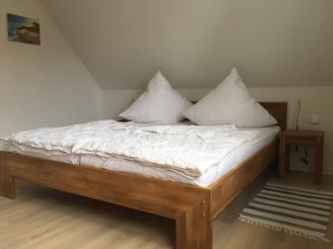 Doppelbett Naturholz / Eiche 180 x200