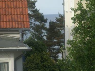 Blick aus der Wohnung zur Ostsee