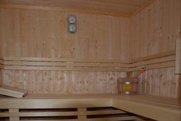 Sauna im EG