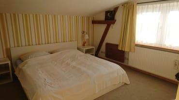 Schlafzimmer 1, Doppelbett 1,60 m