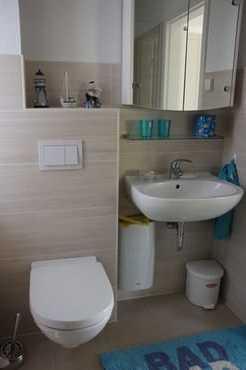 Separates Bad mit Dusche