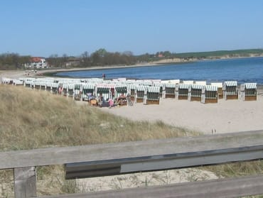 Strand Boltenhagen 75 m von der FeWo entfernt