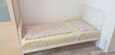 Kinderbett 100 cm x 140 cm für Kinder bis 5 Jahre