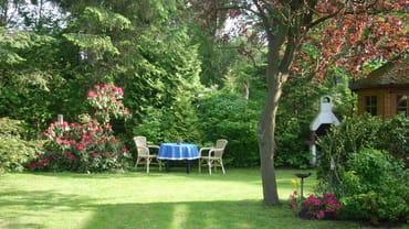 wieder ein Platz zum ausruhen im romantischen Garten