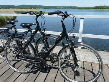 Fahrräder zur Wohnung