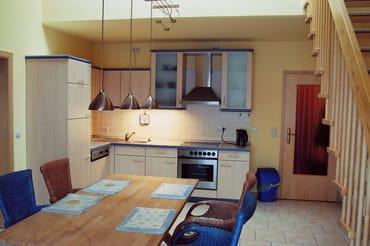 Wohnküche  und Esszimmer